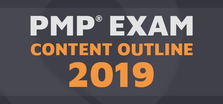PMP Exam content outline 2019
